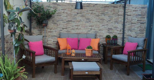 Decorar la terraza el porche el patio patios - Como decorar un porche ...