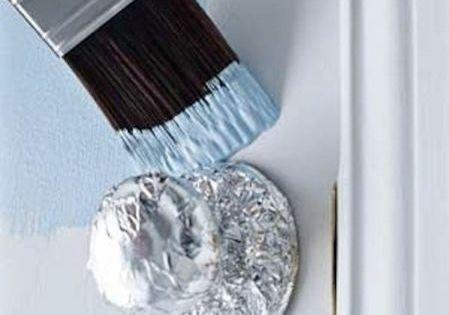 comment peindre une porte sans faire de traces sur la poign e chang 39 e 3 comment and simple. Black Bedroom Furniture Sets. Home Design Ideas