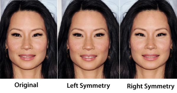asymmetrical faces more attractive