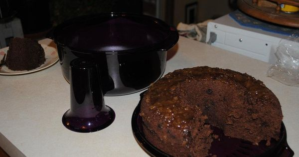 Cake Recipes Cooked In Microwave: Tupperwave Stack Cooker Microwave German Chocolate Cake