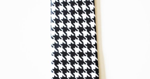 Mens Tie Black and White Modern Pattern Skinny by TiestheKnot, $8.99