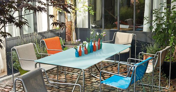 Mobilier oregon ext rieur ou int rieur les photos for Table exterieur truffaut