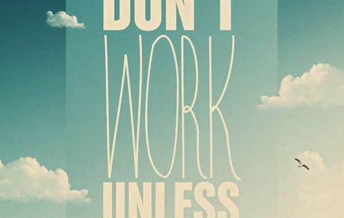 Dreams don't work unless you do. motivation inspiration