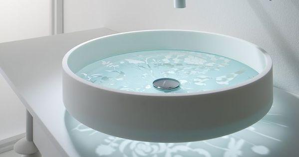 Diseños de originales lavabos para cuartos de baño ...