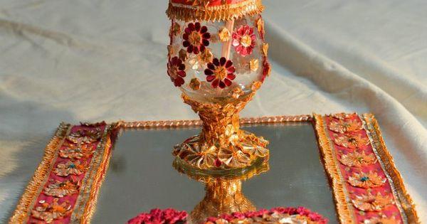 For the 'doodh pilai' | Wedding ideas | Pinterest | Trays ...