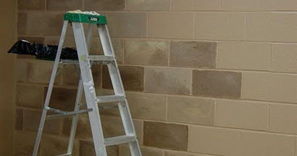 Terrific idea to fix up that cinder block basement for Cinder block basement