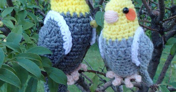 Amigurumi Bird Feet : Life Sized Cockatiel by ~Simnut on deviantART Crochet ...