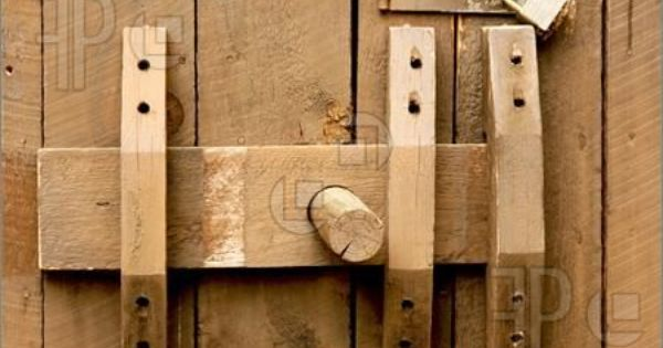 Primitive Wood Door Latches Google Search Building My