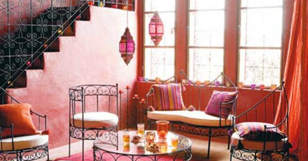 Moroccan Room Painting Tiles And Tiling On Pinterest