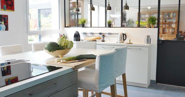 une cuisine modernis e un jardin m tamorphos essonne adc l 39 atelier d 39 c t architecte d. Black Bedroom Furniture Sets. Home Design Ideas