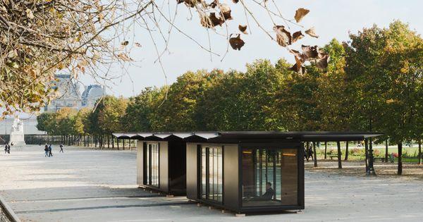 Le pavillon modulable bouroullec meilleures id es bouroullec pavillon et modulable for Kiosque jardin des tuileries
