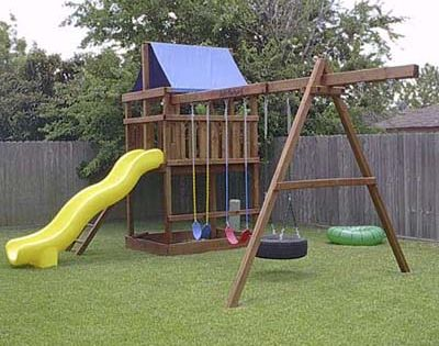 Diy Plans Play Structures Photos Outdoor Landscaping This Old House