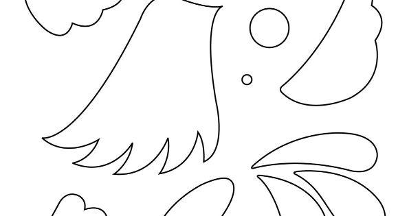 Diff rentes parties du corps d un oiseau colorier puis for Puzzle a colorier gratuit