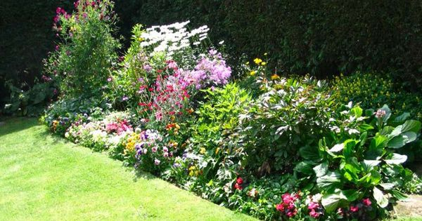 Ideas on how to design a flower bed small flower bed for Perennial flower bed design