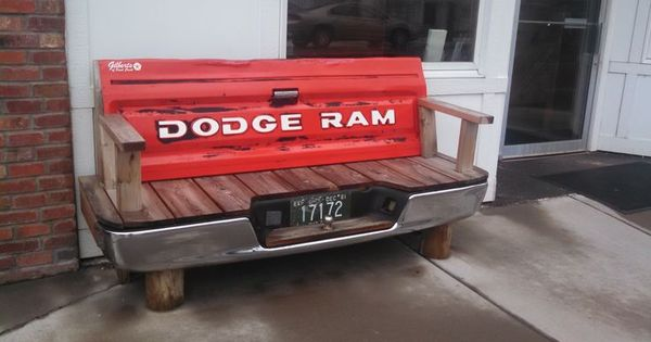 Bench Made Out Of Dodge Truck Tailgate Google Search