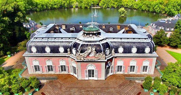Fotos Die Schonsten Deutschen Burgen Und Schlosser Burgen Und Schlosser Schloss Benrath Burg