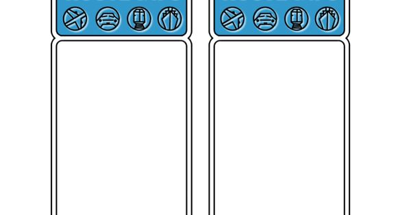 This Is A Template I Used For An Amazing Race Activity I