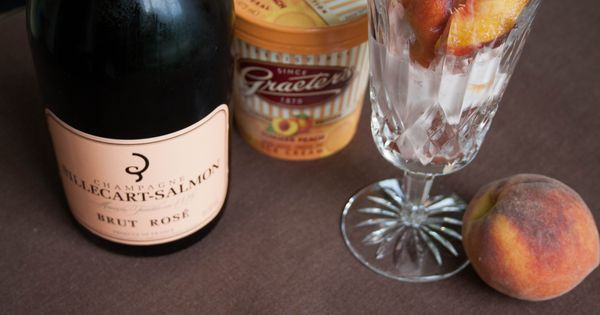 Champagne and Peaches on Pinterest