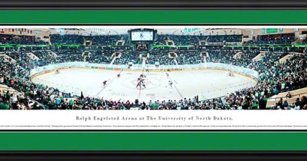 North Dakota Fighting Sioux Framed Panoramic Poster Print ...