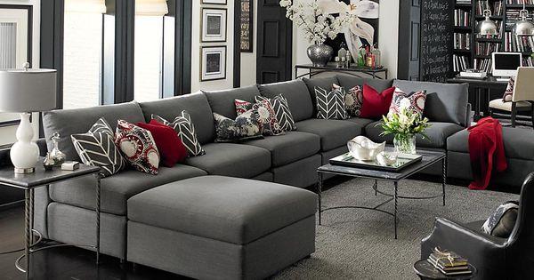 Fifty Shades of Grey Decor Ideas living room ideas, living room inspiration,