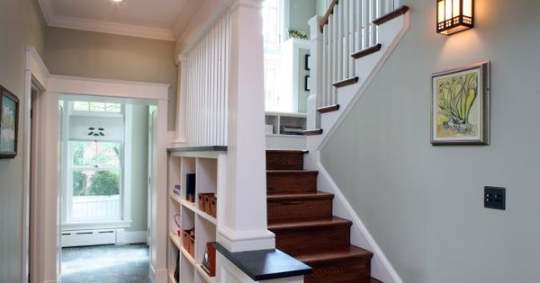 Storage For The Home Pinterest A House Built Ins And Staircases