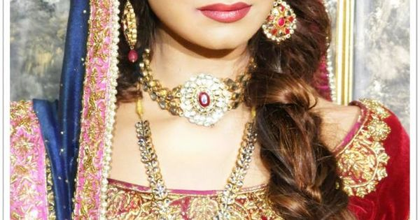 Pakistani model and tv actress hira tareen on her valima ...