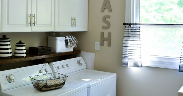 An Easy Diy To Hide Your Ugly Washer Hookups Washers