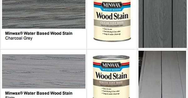 Stain Minwax Gray Wood Stains Minwax Stains By Proteamundi Patio Pinterest Gray