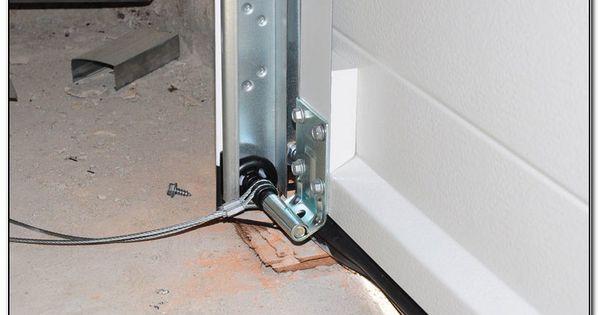 Fitting Garage Door Cables Check More At Https Fashionjewelry Design Fitting Garage Door Garage Door Opener Installation Door Repair Garage Door Cable Repair