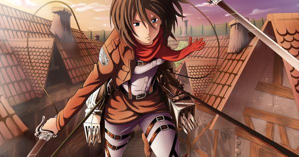 Anime Attack On Titan Shingeki No Kyojin Mikasa Ackerman Wallpaper Attack On Titan Attack On Titan Anime Cute Anime Character