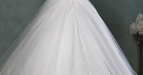 amelia sposa 2016 wedding dresses beautiful cap sheer bateau neckline scallop sweetheart