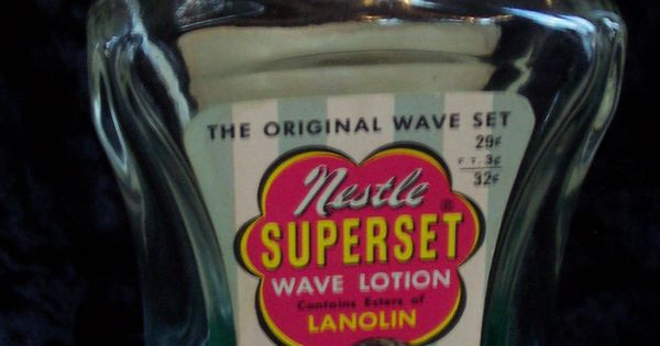 The Original Wave Set By Nestle - 60's Hair Setting Lotion ...