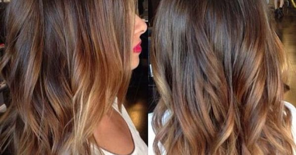 Ombre hair marron caramel la grosse tendance suivre ombre ha r la grosse et ombr - Ombre hair marron caramel ...