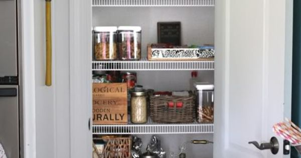 Short On Kitchen Space....turn Hall Closet Into Pantry