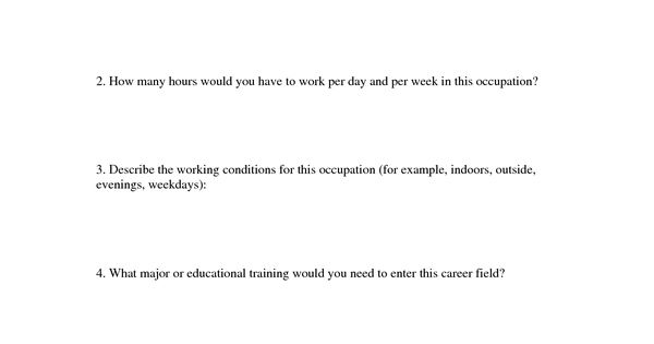 Career Plan Worksheet Career Research Worksheet Career