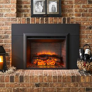 Greatco 29 In Electric Fireplace Insert 42 In Flush Mount Conversion Kit Gi 29 Is 42 Electric Fireplace Insert Fireplace Inserts Electric Fireplace