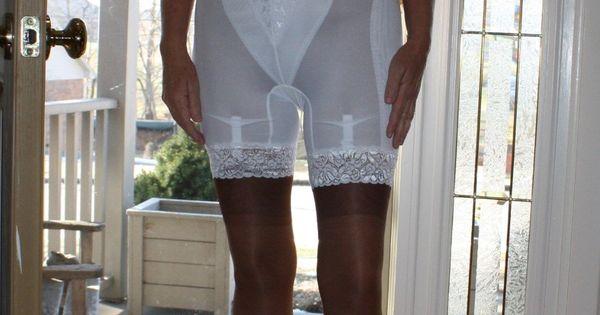 Vintage gartered girdle size large | Vintage, Shoes and ...
