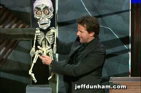 A Clip Of Jeff Dunham And Achmed The Dead Terrorist From