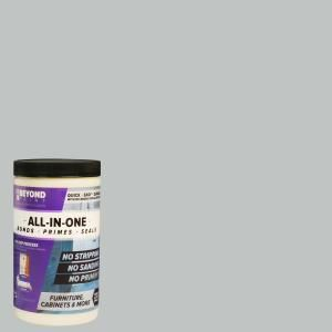 Beyond Paint 1 Qt Soft Gray Furniture Cabinets Countertops And More Multi Surface All In One Interior Exterior Refinishing Paint Bp11 Beyond Paint Painting Cabinets Refinishing Kit