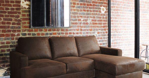 canap angle tissus imitation cuir philadelphie maisons du. Black Bedroom Furniture Sets. Home Design Ideas