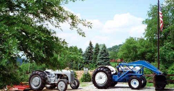 Richard Graham S Restored Antique Tractors Old Tractors Ford Tractors Tractors
