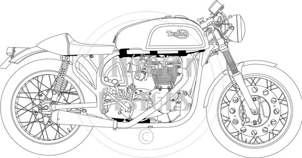 detailed line drawings muscle cars - Google Search | Adult ...