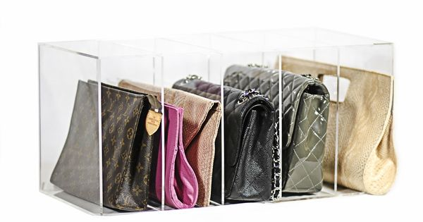 Glamboxes Glamdivide Luxe Clutch Handbag Organizer The Organizing Store Glamboxes Pinterest