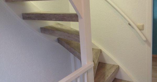 Treden onderzijden en achterzijden van een open trap for Hoeveel traptreden heeft een trap