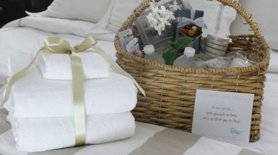 Welcome Gift Baskets For Wedding Guests: 1 Month Before The Wedding Plan In-room Welcome Baskets
