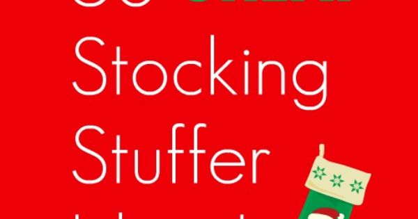 Stocking Stuffer Ideas! | The Holiday Helper - Ideas for all ages