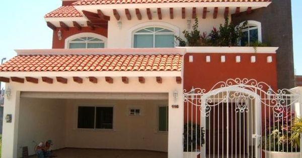 Fachadas mexicanas y estilo mexicano january 2014 for Casas rusticas con jardin