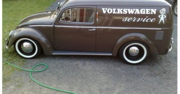 VW Beetle Panel Truck Body | ... melded a vw van with an early vw beetle to create a vw nomad it ...