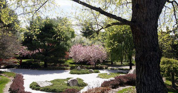 Shiojiri Garden In Merrifield Park Is A Japanese
