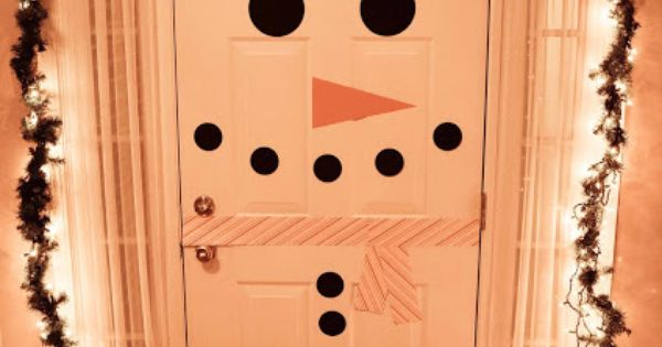 This door is such a cute idea for a door decorating contest.